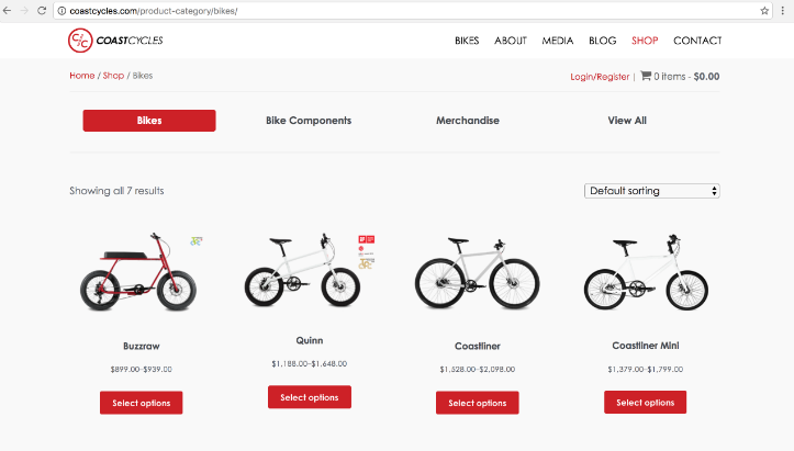 Coast Cycles ecommerce website clean aesthetics.png