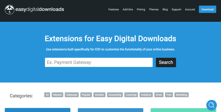 Easy Digital Downloads is designed to help you sell digital products