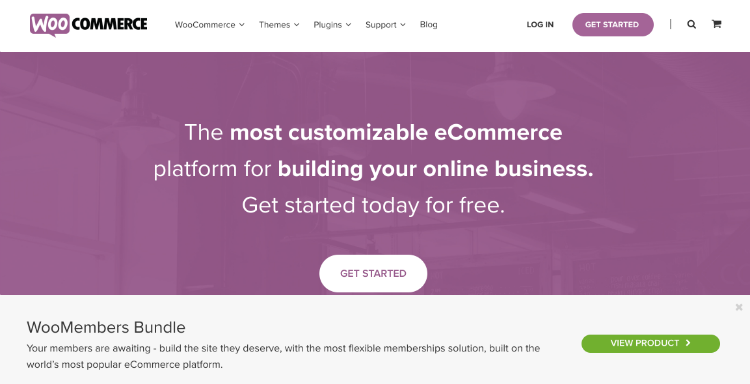 Woocommerce is the most popular Wordpress ecommerce plugin