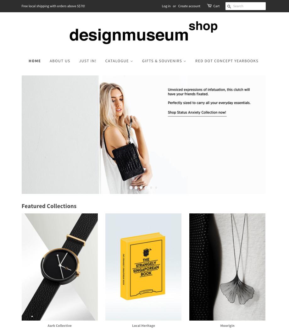 Desktop_view_of_Design_Museum_Shop_Website