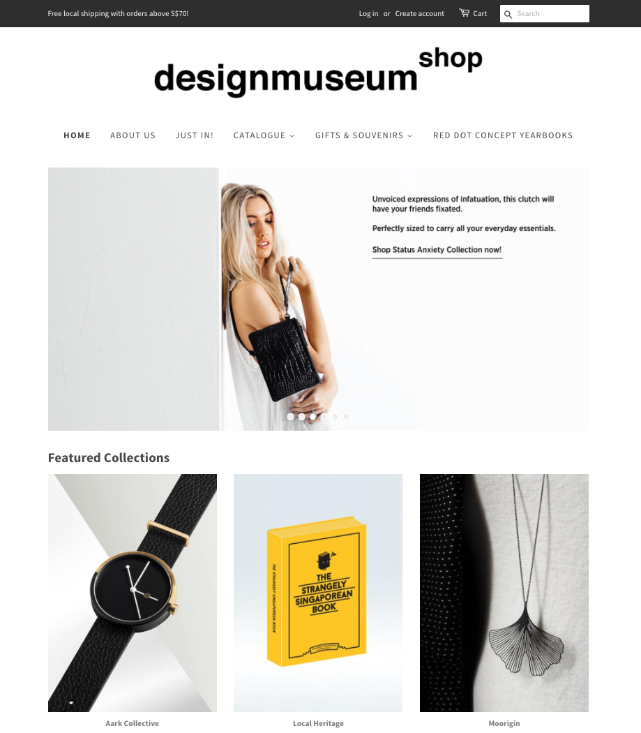 Desktop_view_of_Design_Museum_Shop_Website