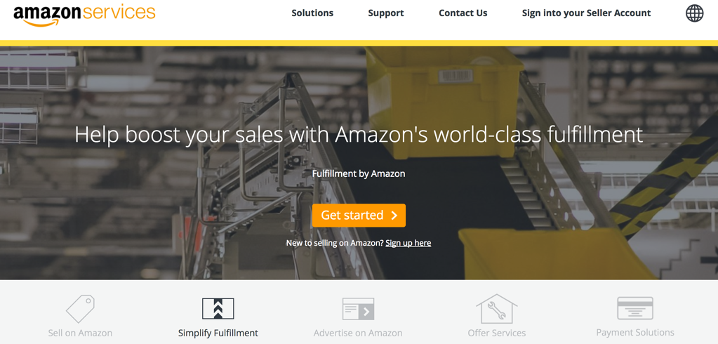Use Amazon Fulfillment Services to reach out to a wider market