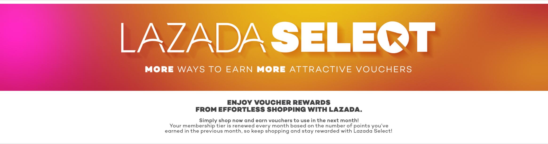 Lazada Select to award loyal customers