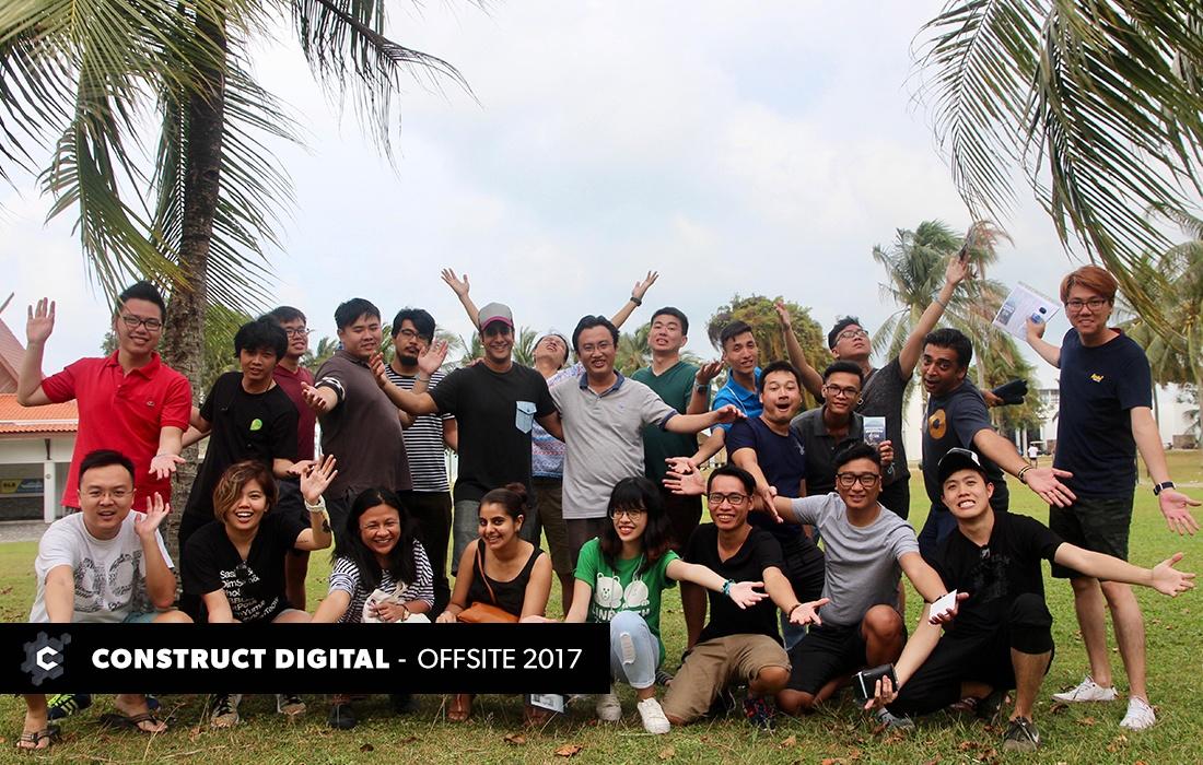 Construct Digital group shot in Bintan Lagoon Resort