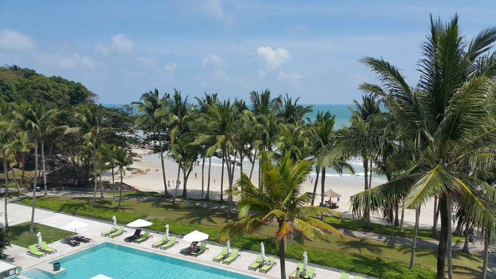 Club Mediterranean Bintan swimming pool and beach.jpg