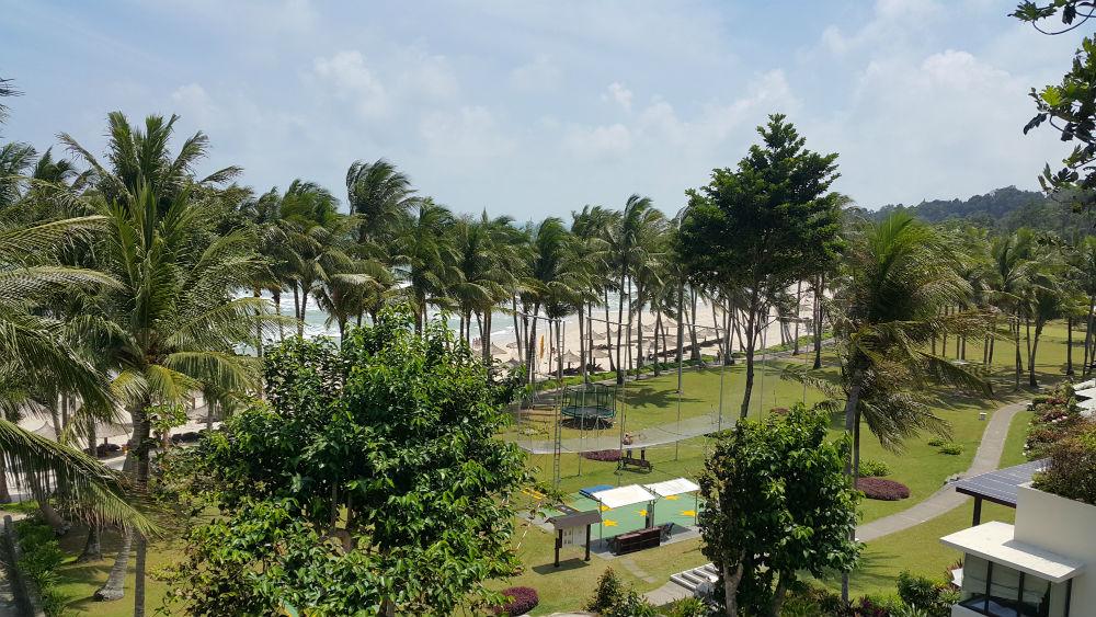 Club Mediterranean Bintan trapeze school