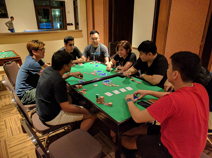 Construct Digital poker night