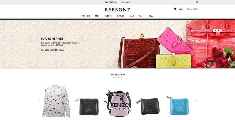 Reebonz is a luxury website