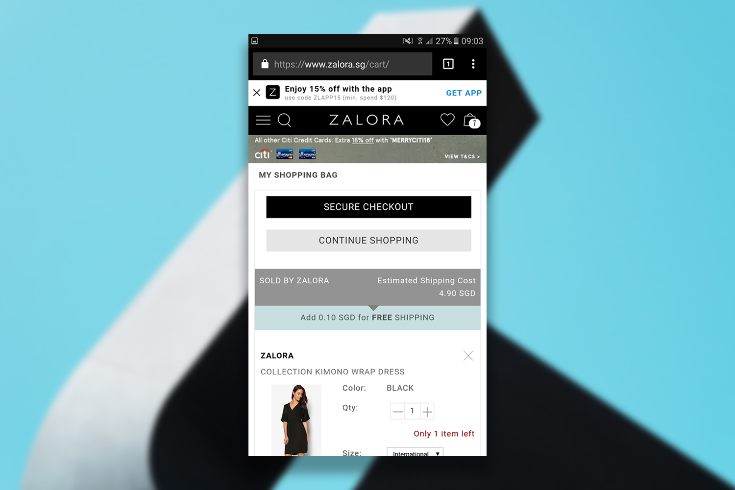 Zalora_checkout_page_example