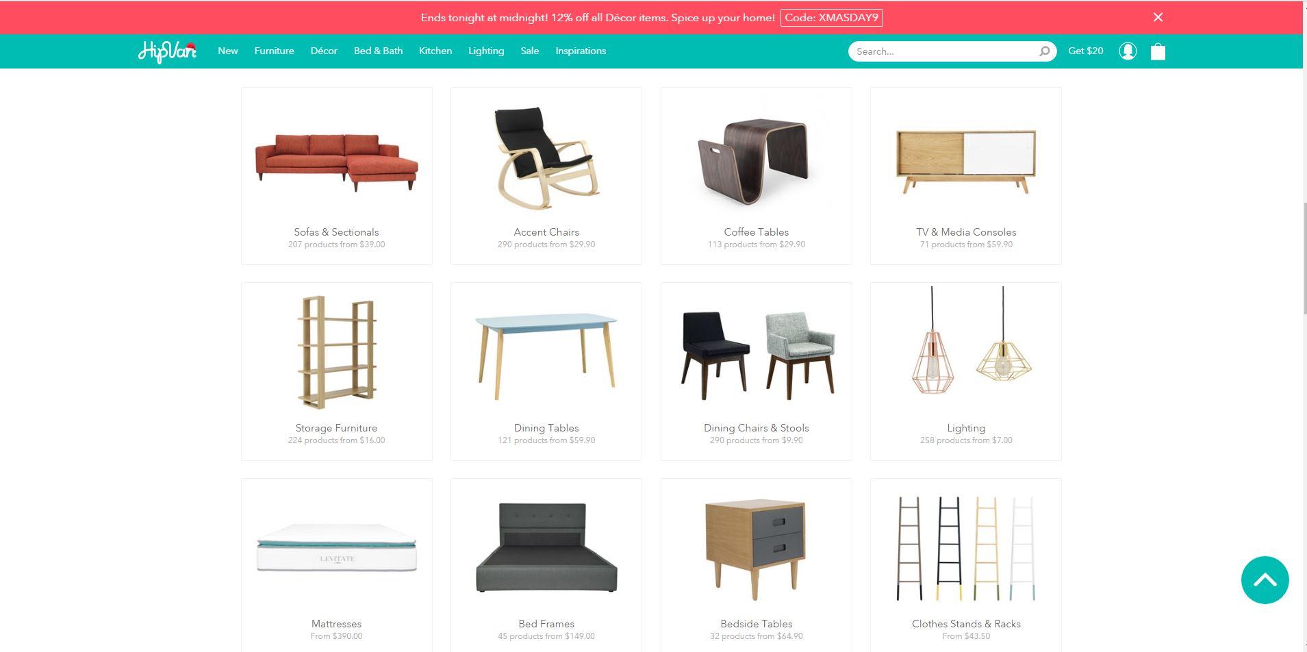 HipVan online retail store