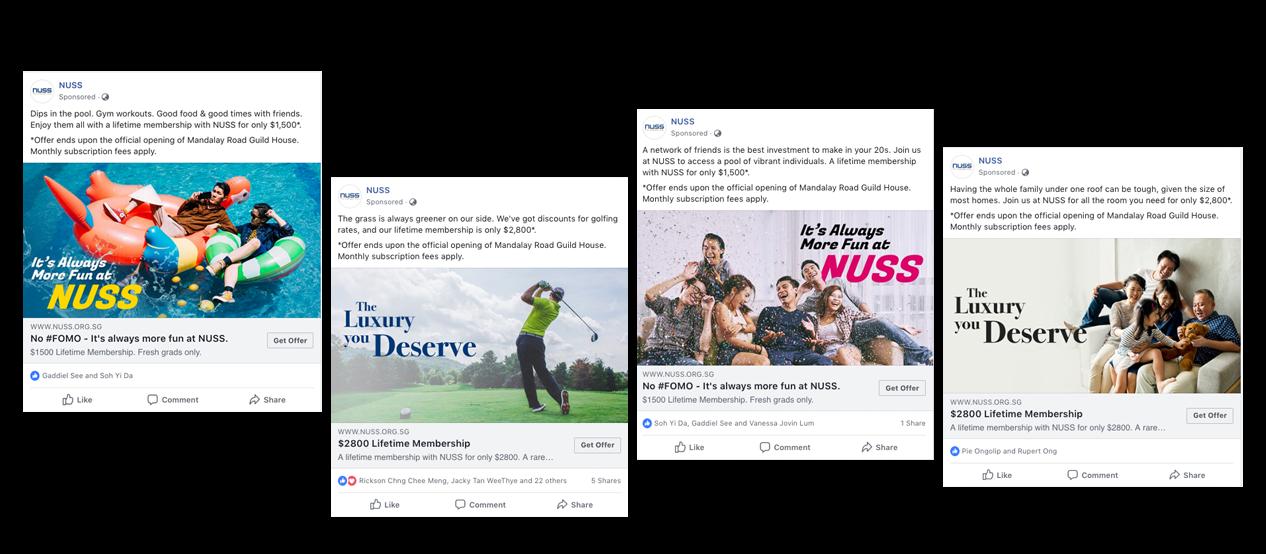 NUSS Ads Samples
