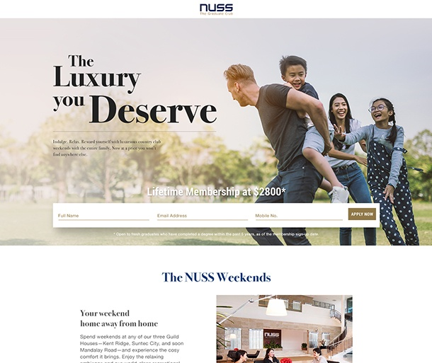 NUSS Case Study Website 2