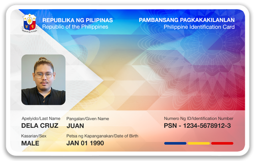 Philippine National ID - Card mockup2