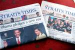 Print media traditional advertising singapore newspaper