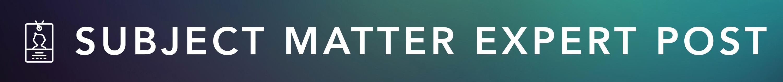 blogsection-Subject Matter Expert