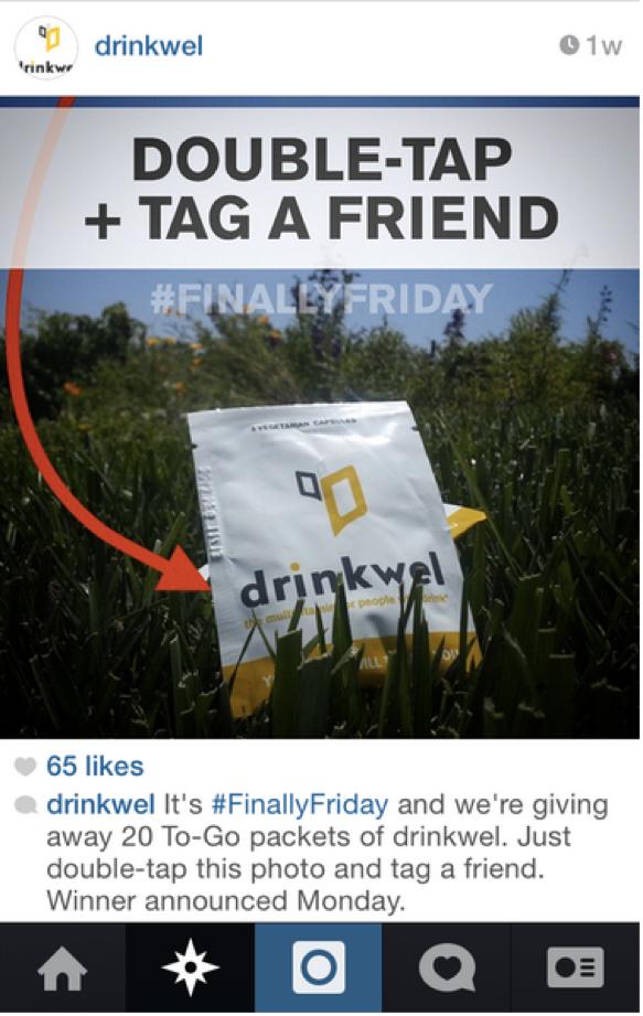 Drinkwel's Instagram Contest