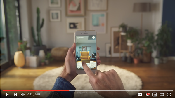 Screenshot taken from Ikea Youtube channel