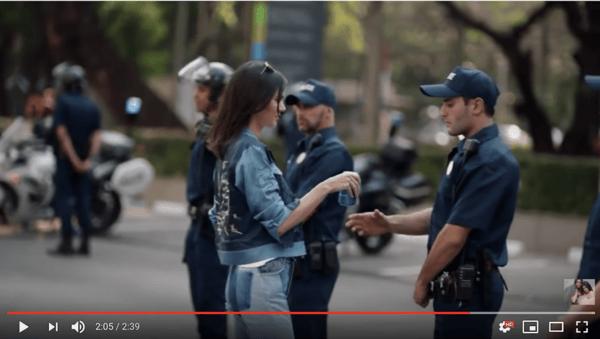 Screenshot taken from Jenner's Youtube channel
