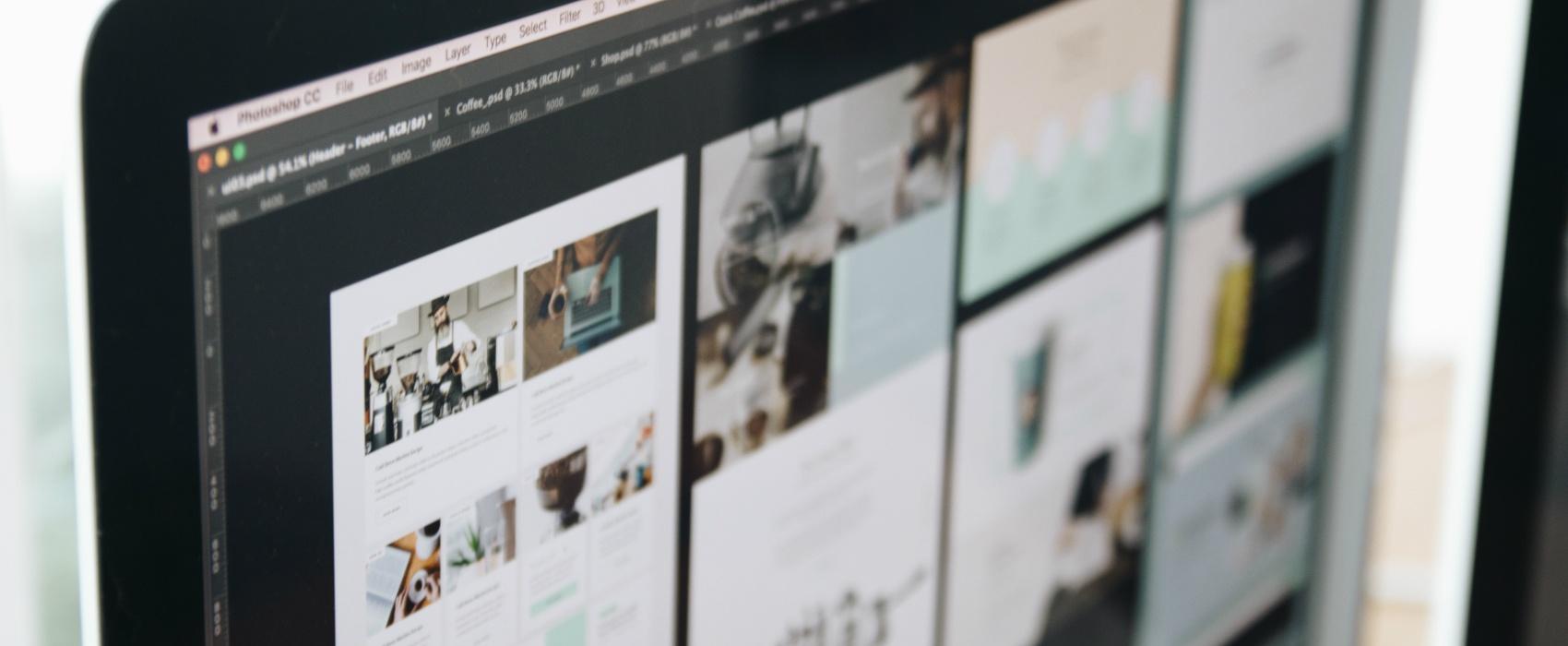 Designing websites on Photoshop