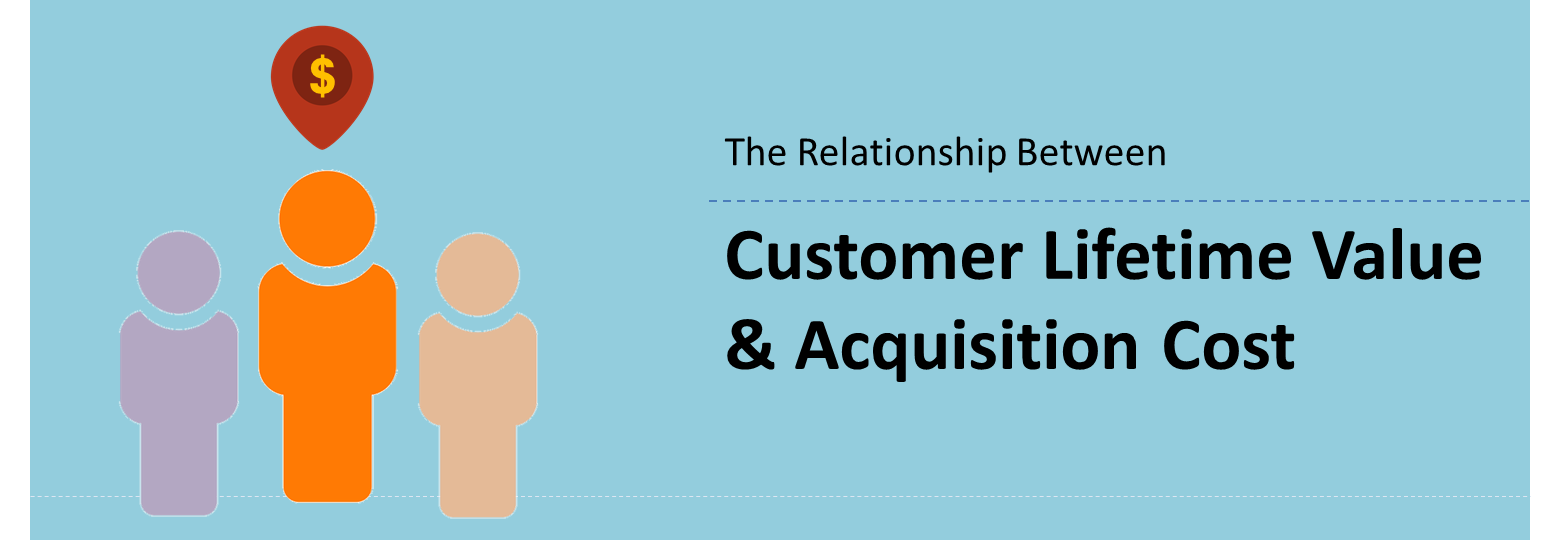 The relationship between Customer Lifetime Value and Acquisition Cost
