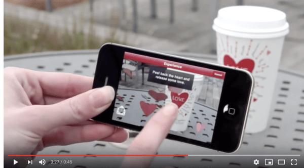 Screenshot taken from Starbucks Youtube channel