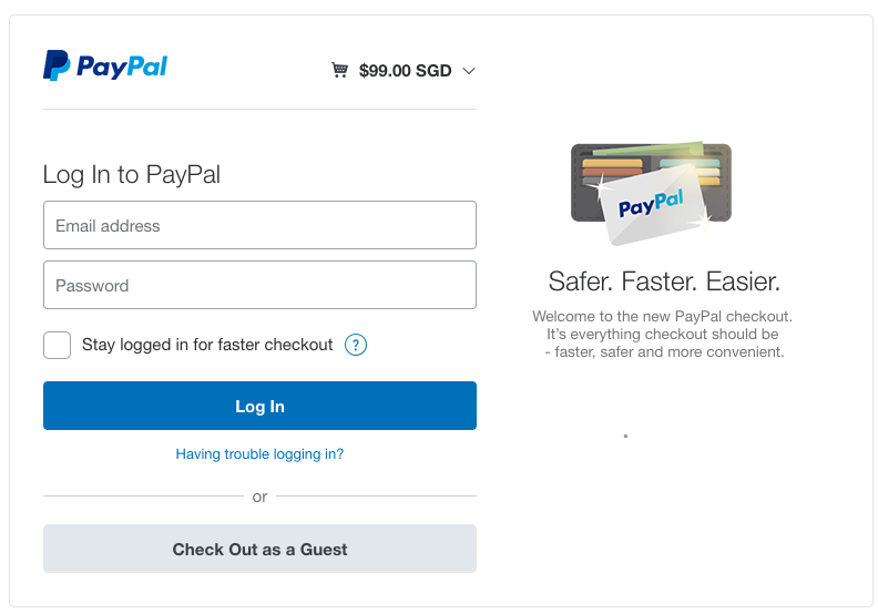 Ecommerce payment gateways in singapore - Paypal paiement differe ...