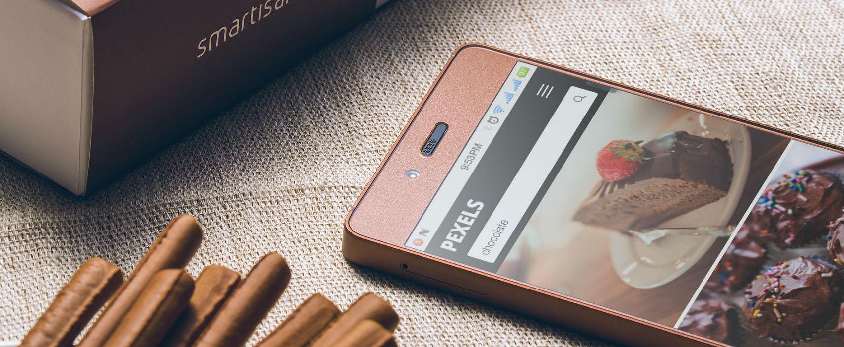 mobile web on smartphone